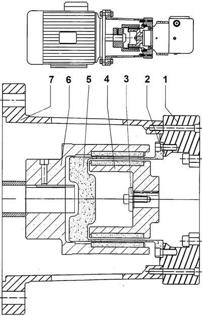 magnetic coupling parts list